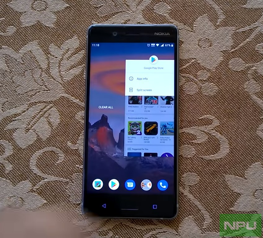 Nokia 8 gets a new Pie Build with April Security update 2019 now