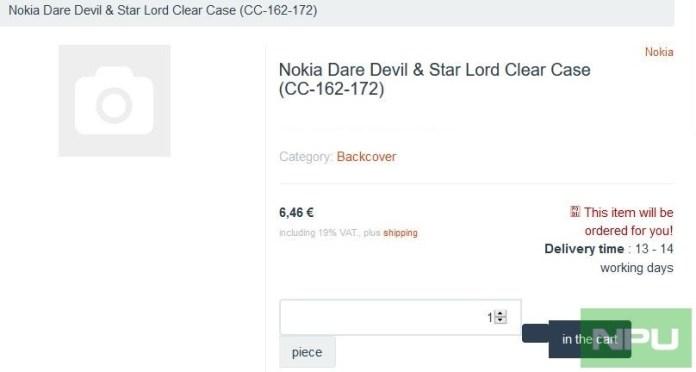 Nokia 6.2 7.2 Nokia Daredevil Nokia Star Lord Case CC-162-172