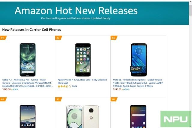 Nokia 7.2 best-selling smartphone in new releases on Amazon | Nokiapoweruser