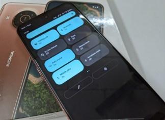 Nokia X20 5G + Android 12 Beta