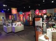 The exhibit floor