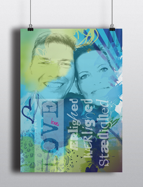 Plakat Jannie og Henning