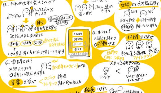 『2020年6月30日にまたここで会おう』瀧本哲史さんの伝説の講義。