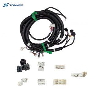 excavator wiring SK350-8 wire harness J08E engine wire