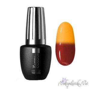 Оранжев термо гел лак за нокти