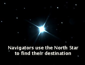 The north star is your true Self.
