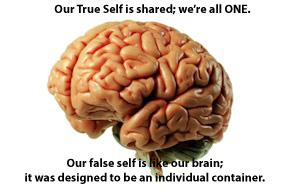 Minds are individual containers.
