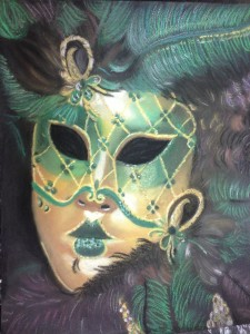 No Matter how ornate your mask, your True Self is much more beautiful.