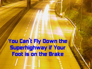Foot on Gas, Foot on Brake