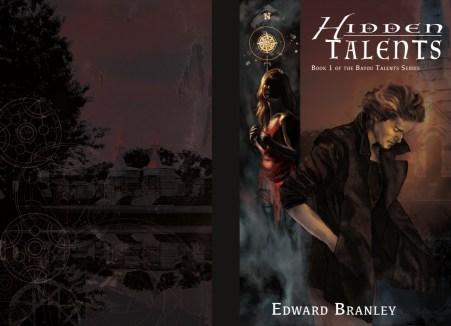 Cover of Hidden Talents, an urban fantasy novel by Edward Branley