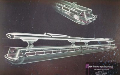 The New Orleans Monorail Project – 1959
