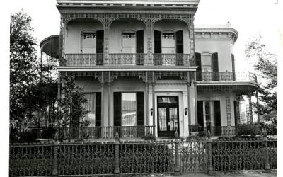 Garden District home (WPA Photo from the 1930s)