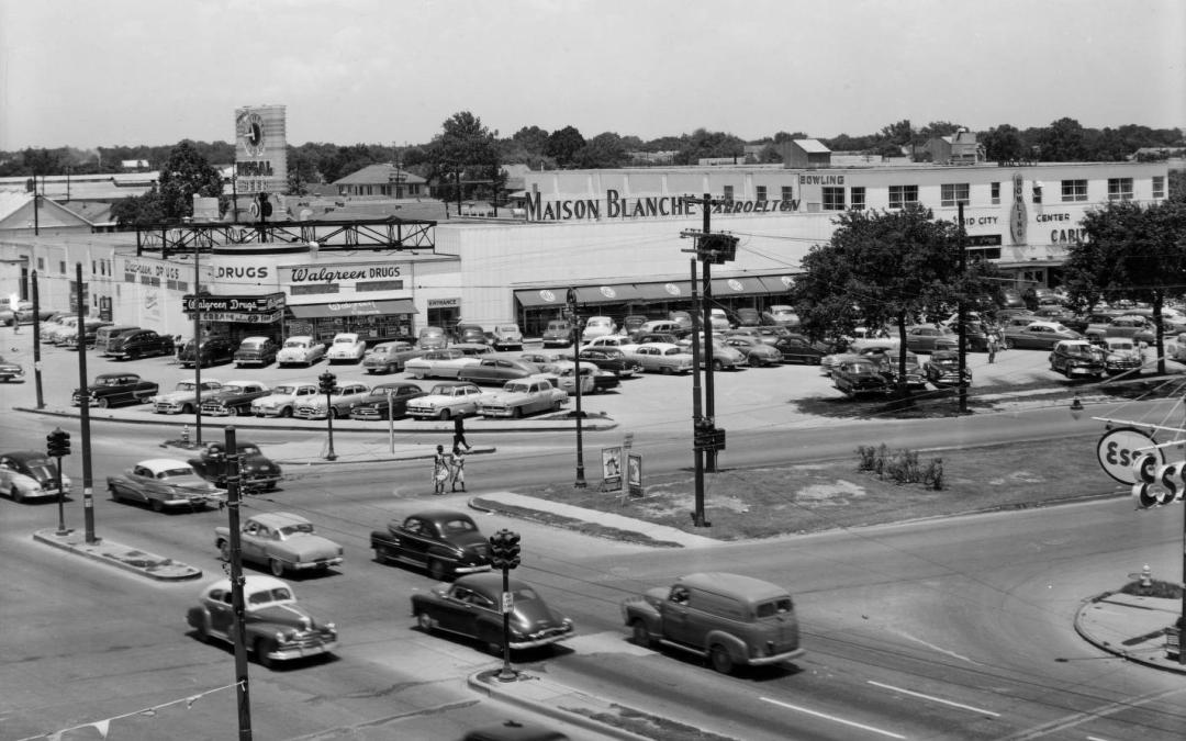 Mid-City New Orleans: MB Carrollton, 1952