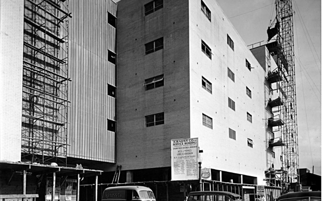 Krauss Service Building, 28-February-1951