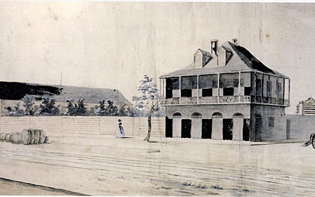 Elysian Fields House, 1842