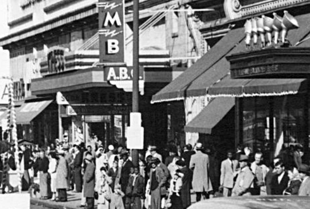 Canal Street Christmas Parade 1953