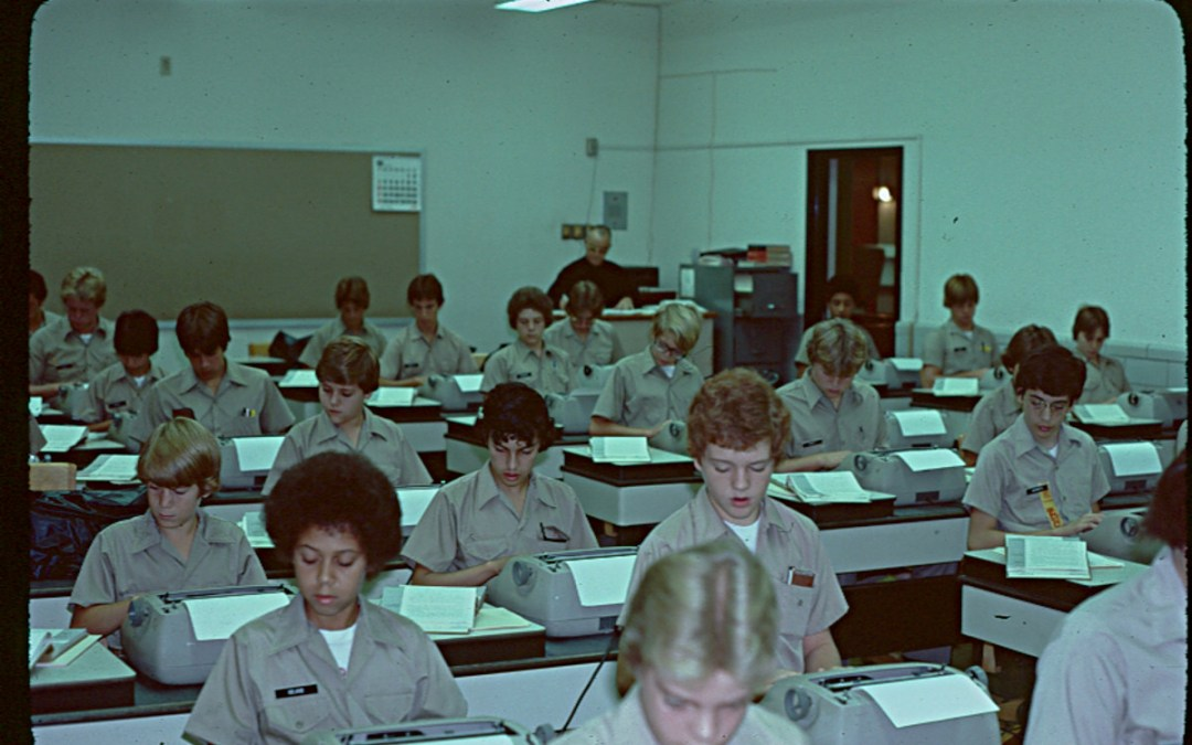 Typing Class 1979 – Brother Martin High School