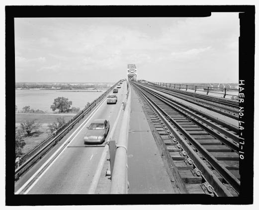 Huey P. Long Bridge HAER survey