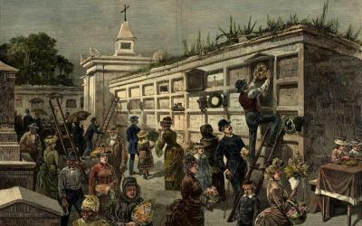 New Orleans History – All Souls Day, All Saints, and All Hallows Eve