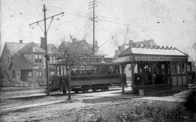 Single Truck Streetcars on Carrollton Avenue, New Orleans, 1901 #StreetcarMonday