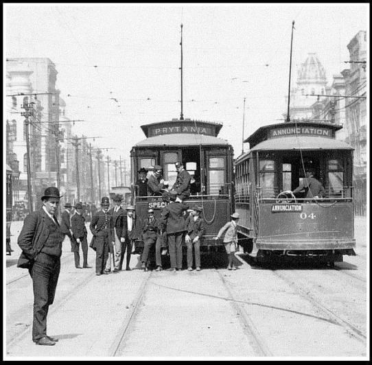 single-truck streetcars