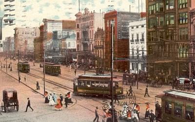 Canal-Baronne Transit Operations, 1906 #StreetcarMonday