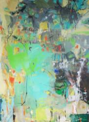 Revelation   NR4004   60 Fig 52 x 38 inches   Michele Lellouche   Oil on Canvas   Nolan-Rankin Galleries - Houston