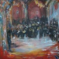 Concert a Bulgarie   Elisabeth Calmes   Nolan-Rankin Galleries - Houston