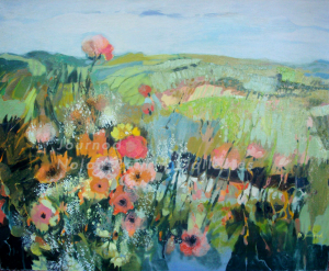 Provence |DWG-12 | 40 Figure: 39.375 x 31.875 in. | Monique Journod | Oil on Canvas | Nolan-Rankin Galleries - Houston
