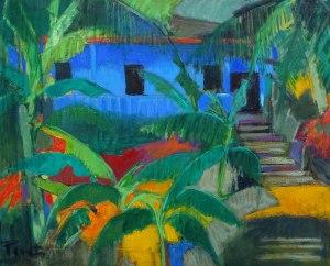 PIVET   La maison bleue   Nolan-Rankin Galleries - Houston