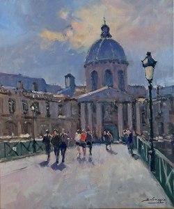 Nolan-Rankin Galleries - Houston   José Salvaggio   L'Institut, Pont des Arts