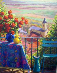 NR5464 La balcon 30 Figure | William Michaut | Nolan-Rankin Galleries - Houston