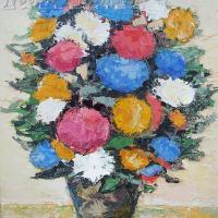 DCMC6 Bouquet 10 Figure: 21.625 x 18.125 inches Renée THÉOBALD Nolan-Rankin Galleries - Houston