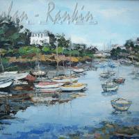 NR5470 Rviere bretonne 40 Figure: 39.375 x 31.875 inches Renée THÉOBALD Nolan-Rankin Galleries - Houston