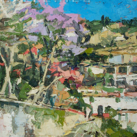 NR5479 Chemin a taxco 12 Figure: 24 x 19.687 Renée THÉOBALD Nolan-Rankin Galleries - Houston