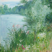 Bord d'Etang | Paul Jean Anderbouhr | Nolan-Rankin Galleries - Houston