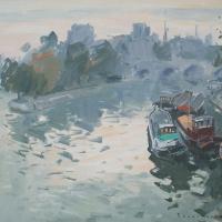 La Seine au Pont Neuf | Paul Jean Anderbouhr | Nolan-Rankin Galleries - Houston