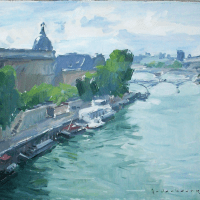 La Seine | Paul Jean Anderbouhr | Nolan-Rankin Galleries - Houston