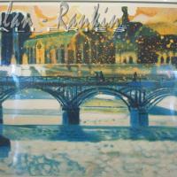 lithograph | Pont des arts | Paul Ambille | Nolan-Rankin Galleries - Houston