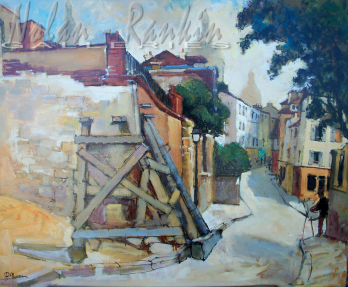 Montmarte | Pierre Neveu | Nolan-Rankin Galleries