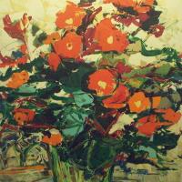 lithograph | Fleurs | Renee Theobald | Nolan-Rankin Galleries - Houston