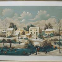 Raphael Toussaint Lithograph 2/250