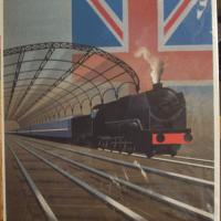 Orient Express Poster | London | Fix-Masseau