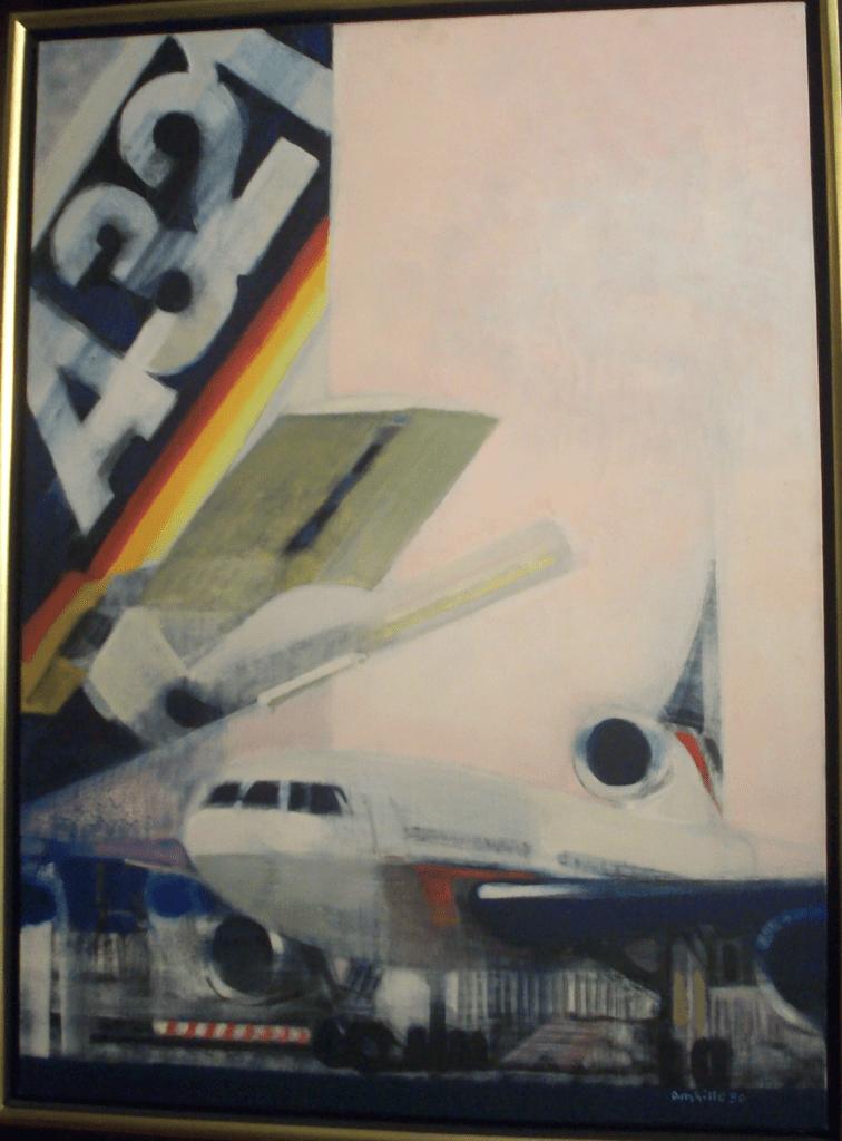 Paul Ambille   oil on canvas   Escale