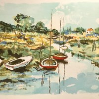 Original Lithograph by Renee Theobald