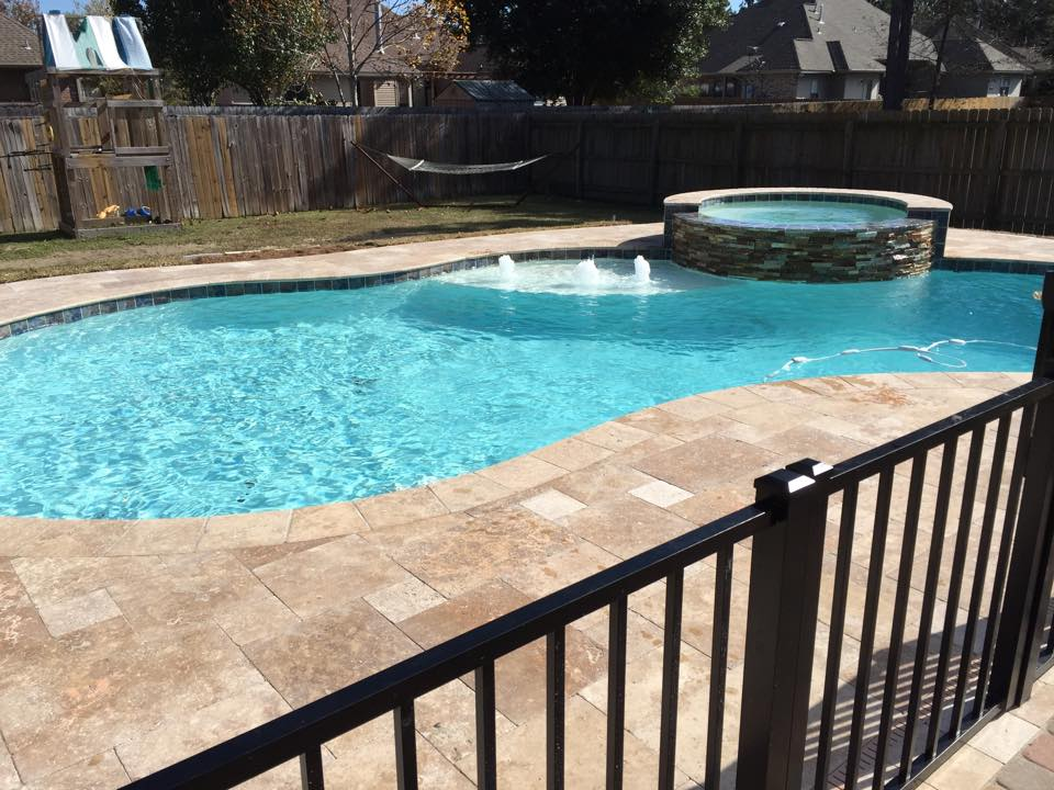 Forrest Brook swimming pool and hot tub  Crystal Pools and Spas