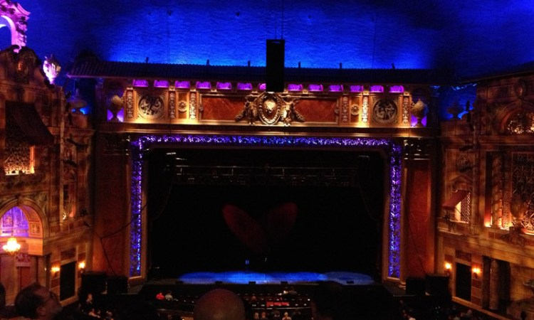 The Saenger Theatre today