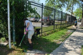 Thanks again to NOLA Time Bank for lending us the grabbers. Good for trash nooks.