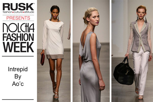 Runway Recap: Intrepid By Ao'c at Nolcha Fashion Week: New York presented by RUSK SS14