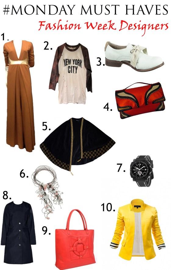 Nolcha Monday Must Fashion Week Designer